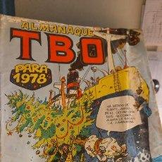 Tebeos: ALMANAQUE TBO PARA 1978. Lote 244771385