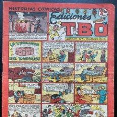 Tebeos: HISTORIAS CÓMICAS TBO - BARCELONA AÑOS 40 - LA VENGANZA DEL BARMAN. Lote 245019535
