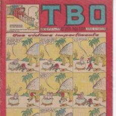 Tebeos: T B O : NUMERO 149 UNA VICTIMA IMPERTINENTE , EDITORIAL BUIGAS. Lote 246103345