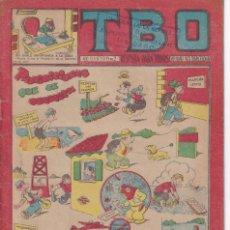 Tebeos: T B O : NUMERO 158 PROHIBICIONES QUE SE OBEDECEN , EDITORIAL BUIGAS. Lote 246103685