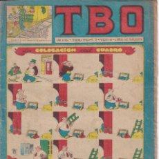Tebeos: T B O : NUMERO 78 LA COLOCACION DEL CUADRO , EDITORIAL BUIGAS. Lote 246104120