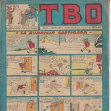 Tebeos: T B O : NUMERO 108 LA AVARICIA CASTIGADA , EDITORIAL BUIGAS. Lote 246104460