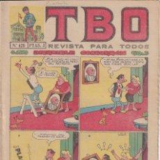 Tebeos: T B O : NUMERO 420 INCREIBLE COSCORRON , EDITORIAL BUIGAS. Lote 246105530