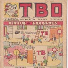 Tebeos: T B O : NUMERO 488 PINTOR DE RECURSOS , EDITORIAL BUIGAS. Lote 246106965