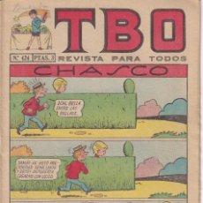 Tebeos: T B O : NUMERO 424 CHASCO , EDITORIAL BUIGAS. Lote 246109325