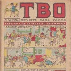 Tebeos: T B O : NUMERO 426 COMO EN LAS GRANDES SOLEMNIDADES , EDITORIAL BUIGAS. Lote 246109510