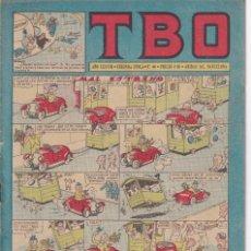 Tebeos: T B O : NUMERO 66 MAL ESTRENO , EDITORIAL BUIGAS. Lote 246109770