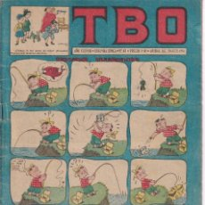 Tebeos: T B O : NUMERO 63 PESCADOR DESGRACIADO , EDITORIAL BUIGAS. Lote 246110170