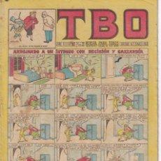 Tebeos: T B O : NUMERO 160 ARROJANDO A UN INTRUSO CON DECISION Y GALLARDIA, EDITORIAL BUIGAS. Lote 246111380