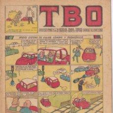 Tebeos: T B O : NUMERO 283 NUEVO SISTEMA DE VIAJAR COMODO Y ECONOMICO, EDITORIAL BUIGAS. Lote 246112050