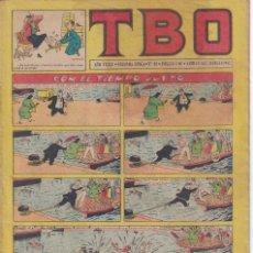 Tebeos: T B O : NUMERO 88 CON EL TIEMPO JUSTO , EDITORIAL BUIGAS. Lote 246113815