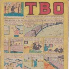 Tebeos: T B O : NUMERO 76 UNA BUENA IDEA DE UN SEÑOR DIRECTOR DE FERROCARRILES , EDITORIAL BUIGAS. Lote 246114260