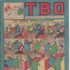 Tebeos: T B O : NUMERO 84 UN SEÑOR CUMPLIMENTERO , EDITORIAL BUIGAS. Lote 246114760