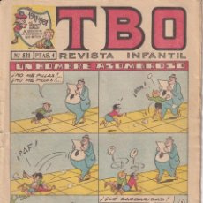Livros de Banda Desenhada: T B O : NUMERO 521 UN HOMBRE ASOMBROSO , EDITORIAL BUIGAS. Lote 246274920