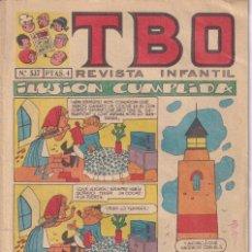 Livros de Banda Desenhada: T B O : NUMERO 537 ILUSION CUMPLIDA , EDITORIAL BUIGAS. Lote 246275130