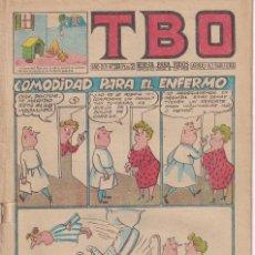 Livros de Banda Desenhada: T B O : NUMERO 244 COMODIDAD PARA EL ENFERMO , EDITORIAL BUIGAS. Lote 246275305