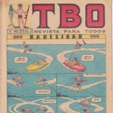 Tebeos: T B O : NUMERO 461 HABILIDAD , EDITORIAL BUIGAS. Lote 246279055