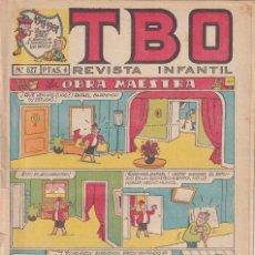Livros de Banda Desenhada: T B O : NUMERO 527 LA OBRA MAESTRA , EDITORIAL BUIGAS. Lote 246279225
