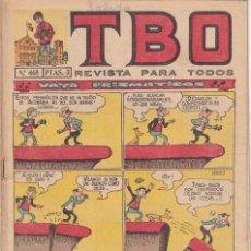 Tebeos: T B O : NUMERO 468 VAYA PRISMATICOS , EDITORIAL BUIGAS. Lote 246279895