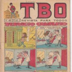 Tebeos: T B O : NUMERO 469 SERVICIO COMPLETO , EDITORIAL BUIGAS. Lote 246280215