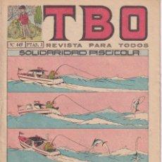 Tebeos: T B O : NUMERO 449 SOLIDARIDAD PISCICOLA , EDITORIAL BUIGAS. Lote 246281935