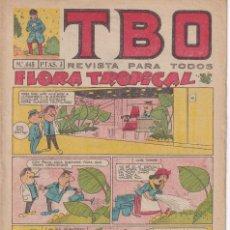 Tebeos: T B O : NUMERO 445 FLORA TROPICAL , EDITORIAL BUIGAS. Lote 246282250