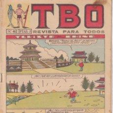 Tebeos: T B O : NUMERO 462 TURISTA EN CHINA , EDITORIAL BUIGAS. Lote 246282725