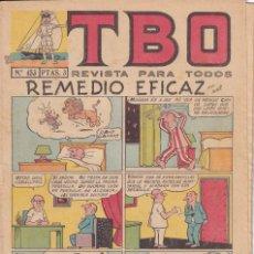 Tebeos: T B O : NUMERO 453 REMEDIO EFICAZ , EDITORIAL BUIGAS. Lote 246283135