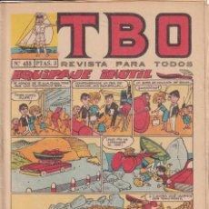 Tebeos: T B O : NUMERO 455 EQUIPAJE INUTIL , EDITORIAL BUIGAS. Lote 246283320
