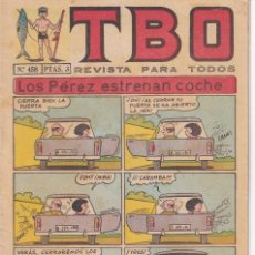 Tebeos: T B O : NUMERO 458 LOS PEREZ ESTRENA COCHE , EDITORIAL BUIGAS. Lote 246283605