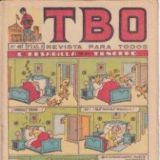 Tebeos: T B O : NUMERO 467 LA PESADILLA DE UN TENDERO , EDITORIAL BUIGAS. Lote 246284310