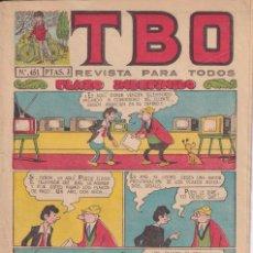 Tebeos: T B O : NUMERO 451 PLAZO INDEFINIDO , EDITORIAL BUIGAS. Lote 246284560
