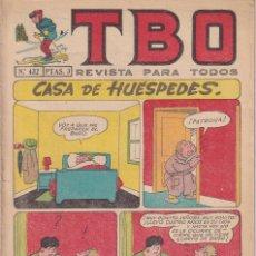 Tebeos: T B O : NUMERO 432 CASA DE HUESPEDES , EDITORIAL BUIGAS. Lote 246284835
