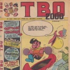 Tebeos: T B O 2000 : NUMERO 2251 , EDITORIAL BUIGAS. Lote 246286745