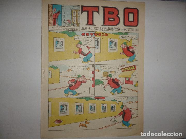 TBO Nº 221 - ASTUCIA - 1960 - 2 PTAS - (Tebeos y Comics - Buigas - Otros)