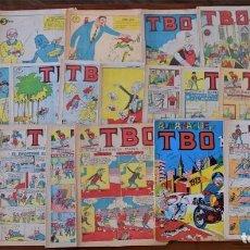 Tebeos: LOTE 21 TBO + ALMANAQUE DE TBO AÑO 1973 (VER FOTOGRAFÍAS). Lote 249518240