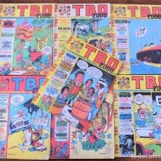 Tebeos: LOTE 7 EJEMPLARES TBO 2000 Nº 2200, 2221, 2222, 2226, 2228, 2240 Y 2241 - BUIGAS AÑO 1977. Lote 251349255