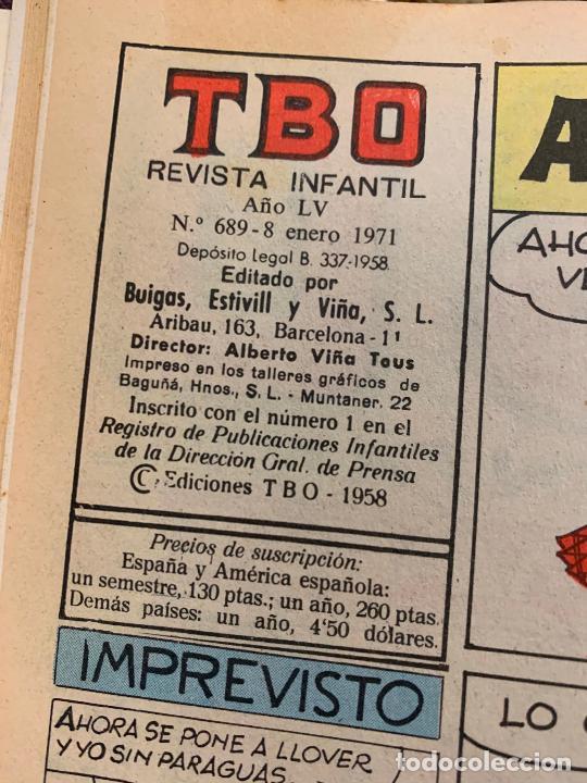 Tebeos: lote 55 tebeos TBO originales años 70, de num 689 al 740 + 4 extras especiales. Todos fotografiados - Foto 4 - 251956285