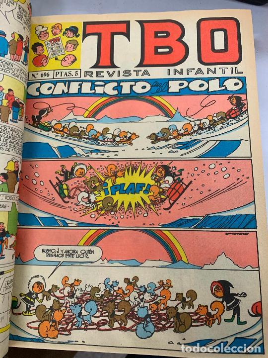Tebeos: lote 55 tebeos TBO originales años 70, de num 689 al 740 + 4 extras especiales. Todos fotografiados - Foto 10 - 251956285