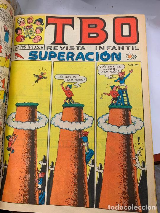 Tebeos: lote 55 tebeos TBO originales años 70, de num 689 al 740 + 4 extras especiales. Todos fotografiados - Foto 19 - 251956285