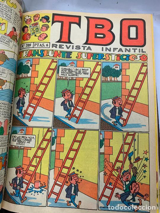 Tebeos: lote 55 tebeos TBO originales años 70, de num 689 al 740 + 4 extras especiales. Todos fotografiados - Foto 23 - 251956285