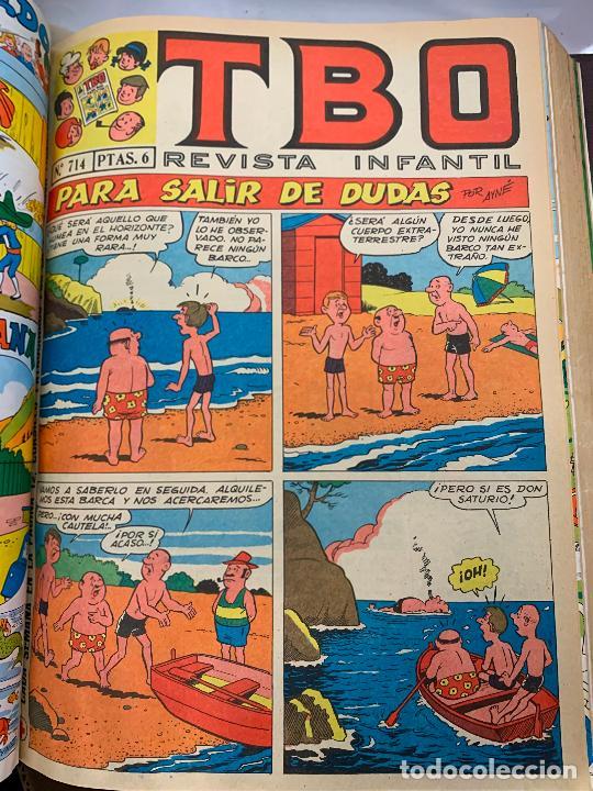 Tebeos: lote 55 tebeos TBO originales años 70, de num 689 al 740 + 4 extras especiales. Todos fotografiados - Foto 29 - 251956285