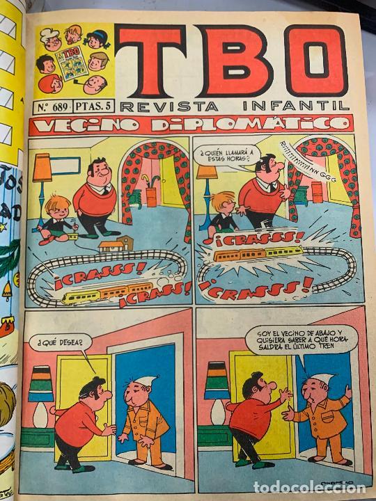 LOTE 55 TEBEOS TBO ORIGINALES AÑOS 70, DE NUM 689 AL 740 + 4 EXTRAS ESPECIALES. TODOS FOTOGRAFIADOS (Tebeos y Comics - Buigas - TBO)