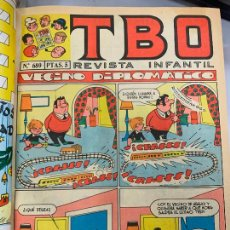 Tebeos: LOTE 55 TEBEOS TBO ORIGINALES AÑOS 70, DE NUM 689 AL 740 + 4 EXTRAS ESPECIALES. TODOS FOTOGRAFIADOS. Lote 251956285