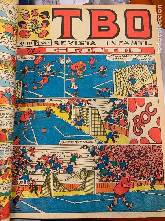 Tebeos: lote 65 tebeos TBO originales años 69, de num 570 al 635 + 6 extras especiales. Todos fotografiados - Foto 4 - 252040110