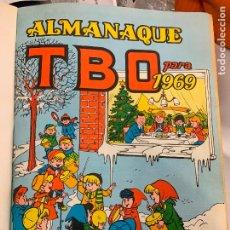 Tebeos: LOTE 65 TEBEOS TBO ORIGINALES AÑOS 69, DE NUM 570 AL 635 + 6 EXTRAS ESPECIALES. TODOS FOTOGRAFIADOS. Lote 252040110