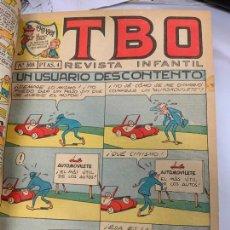 Tebeos: LOTE 69 TEBEOS TBO ORIGINALES AÑOS 68, DE NUM 500 AL 569 + 5 EXTRAS ESPECIALES. TODOS FOTOGRAFIADOS. Lote 252133705