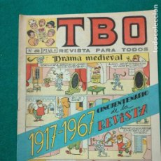 BDs: TBO Nº 480. BUIGAS 1967.. Lote 253618485