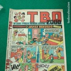 Tebeos: TBO 2000 Nº 2006. BUIGAS. Lote 253781695