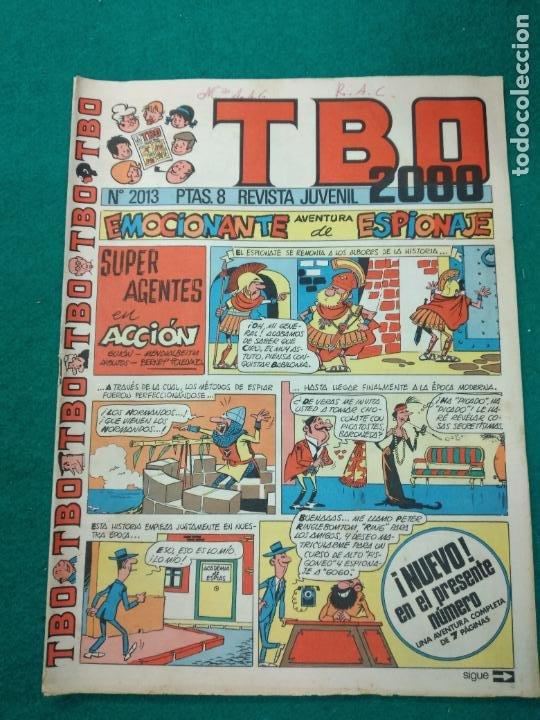 TBO 2000 Nº 2013. BUIGAS (Tebeos y Comics - Buigas - TBO)